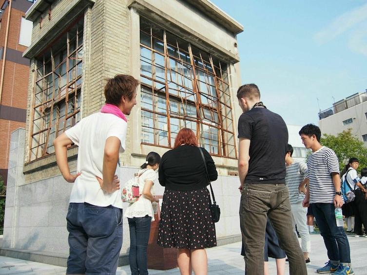 Group tour of Hiroshima