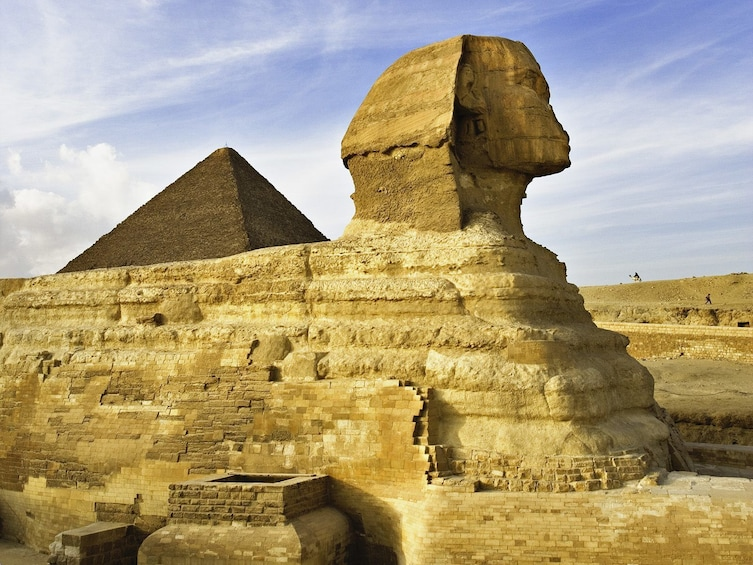 Show item 1 of 10. Great Pyramids and the Sphinx