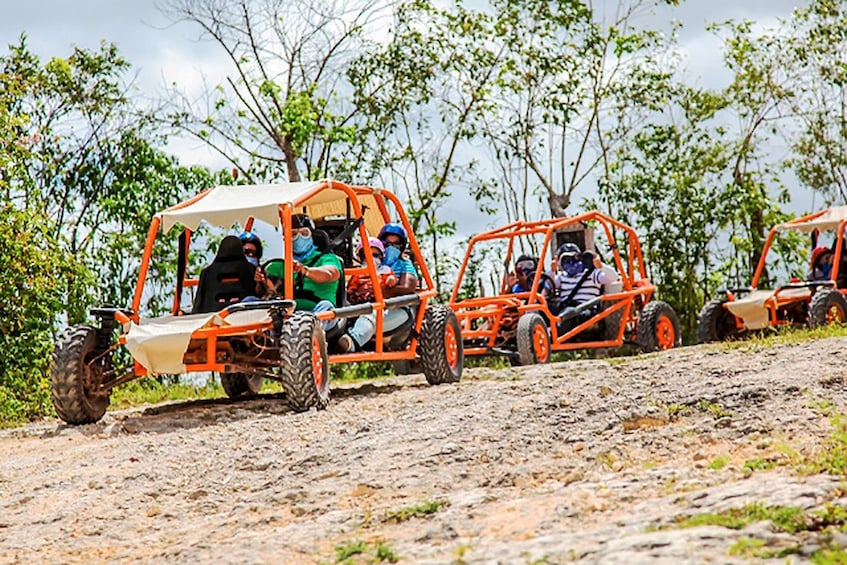 Show item 1 of 10. Flintstones Buggy Adventure - Punta Cana