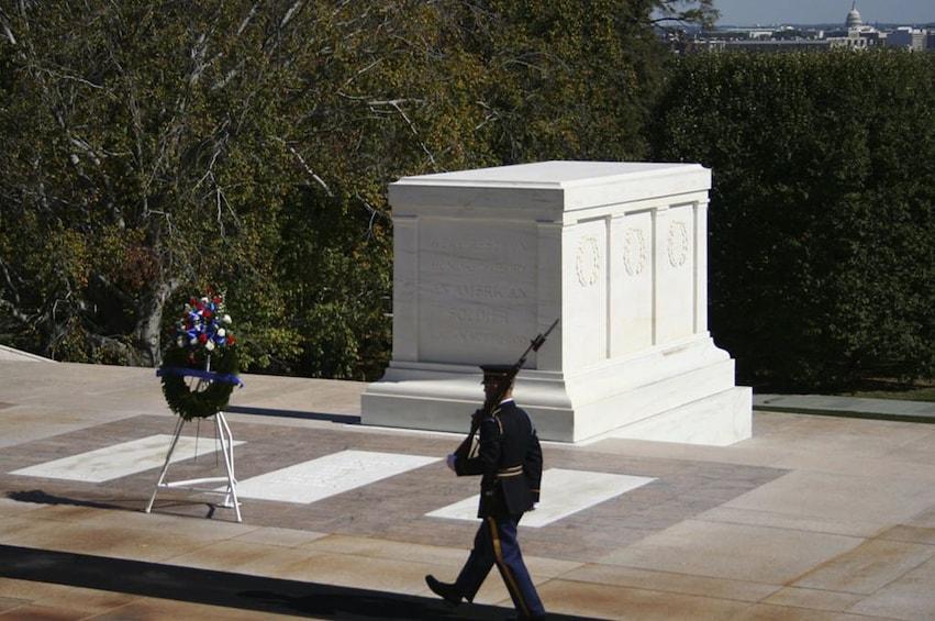 Show item 2 of 10. Arlington National Cemetery & DC Highlights Tour