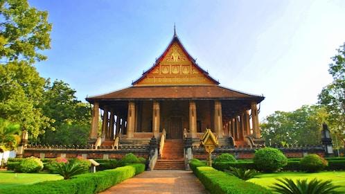 Temple in Vientiane
