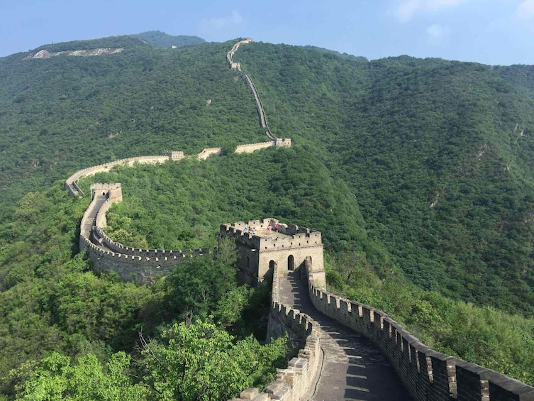 Show item 2 of 6. Great Wall at Mutianyu Section One Day Tour with Lunch