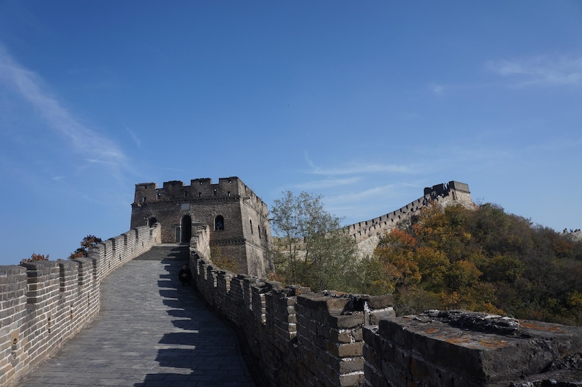 Show item 1 of 6. Great Wall at Mutianyu Section One Day Tour with Lunch