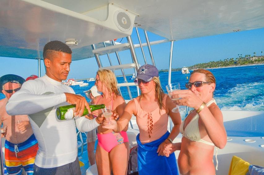Breakers Premium Catamaran Adventure 4 + 1 with BBQ!