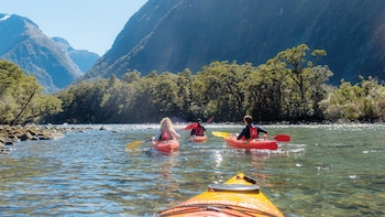 Milford Sound Coach, Cruise & Kayak Tour with Lunch