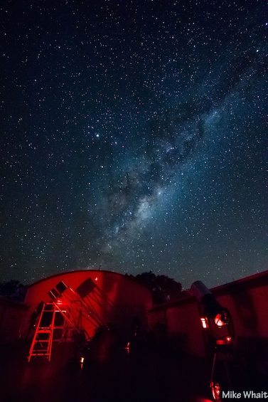 Observatory at night in Australia