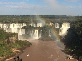 Roundtrip Airport Transfer With Tour to Both Iguazu Falls
