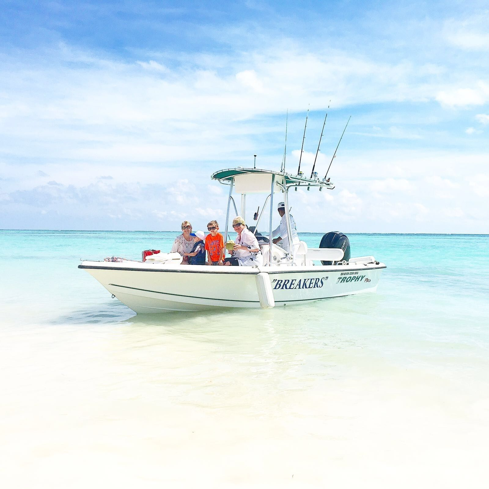 Group boat trip in Punta Cana