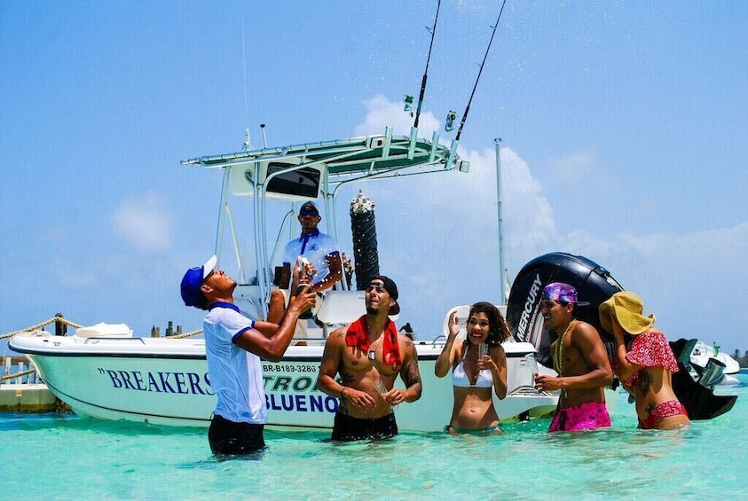 Breakers Family Snorkel and Fishing Combo