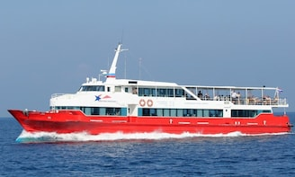 Koh Tao to Surat Thani Town by Seatran Discovery Ferry & Minivan
