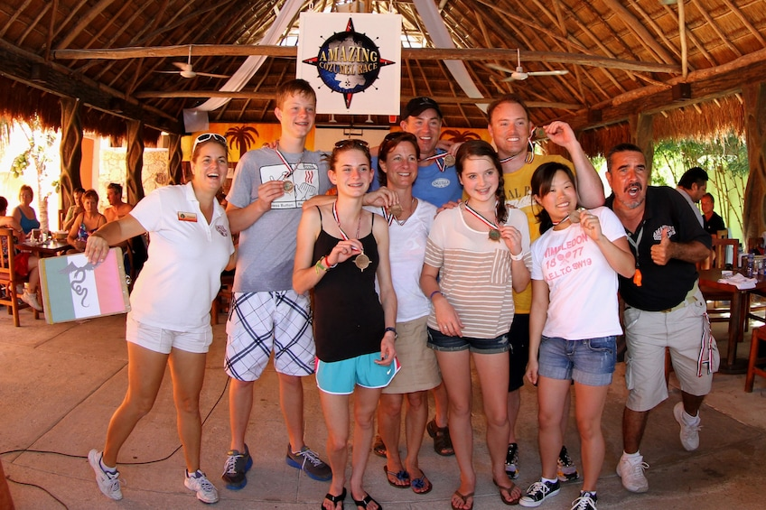 Group on the Amazing Cozumel Race