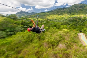 Extreme Ziplines Adventures from Punta Cana