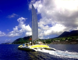 Full-Day Catamaran Sail to Nevis