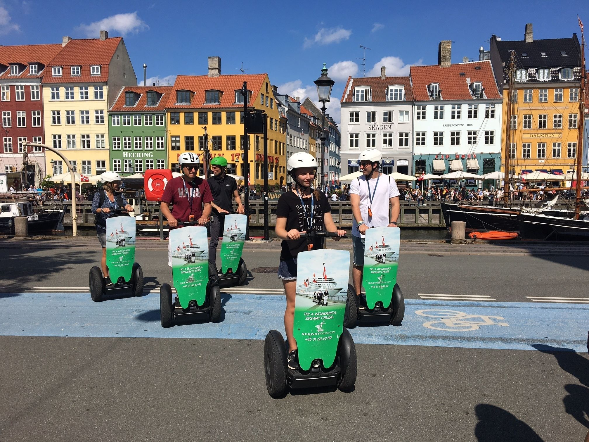 Segway tour of the streets of Copenhagen