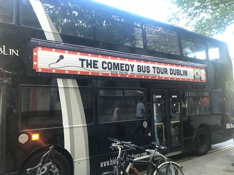 Show item 1 of 1. Dublin Comedy City Sightseeing  Evening Bus Tour -BYOB