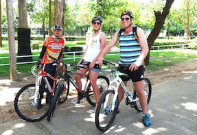 1-Day Road ride 45 km Cross Country Mae Ping valley,