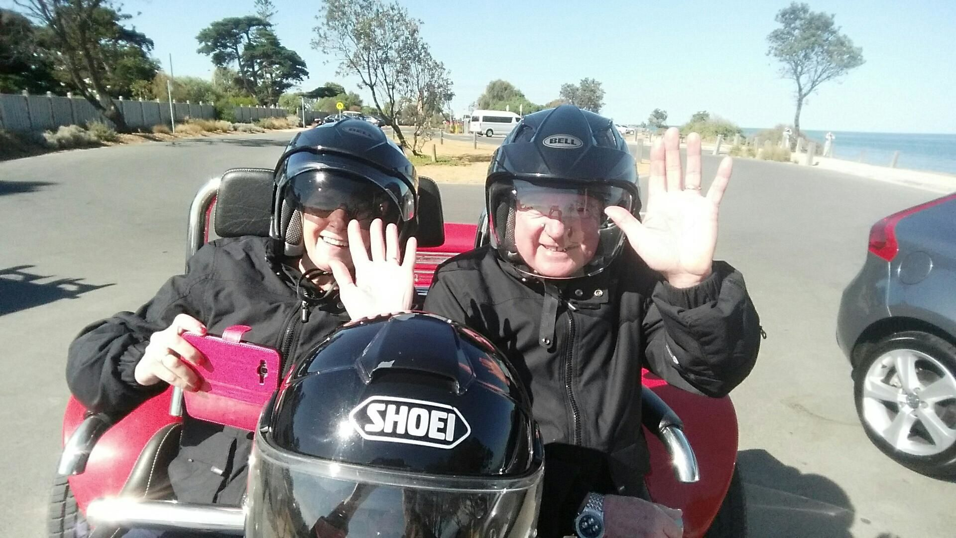 Melbourne Explorer Full Day Motorcycle Trike Tour for 2