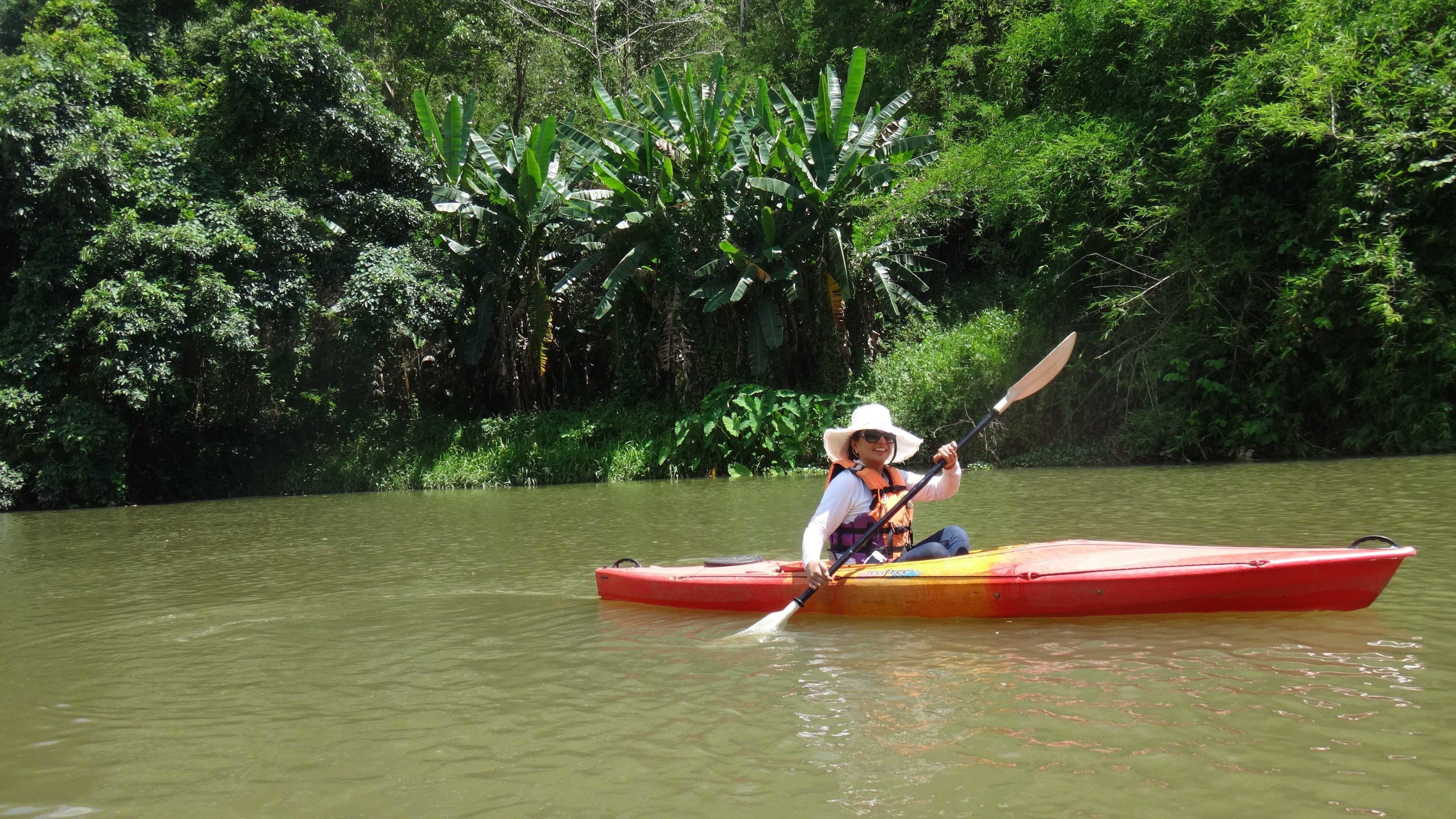 1-Day Bike and River Kayak Adventure in the Mae Ngat Valley