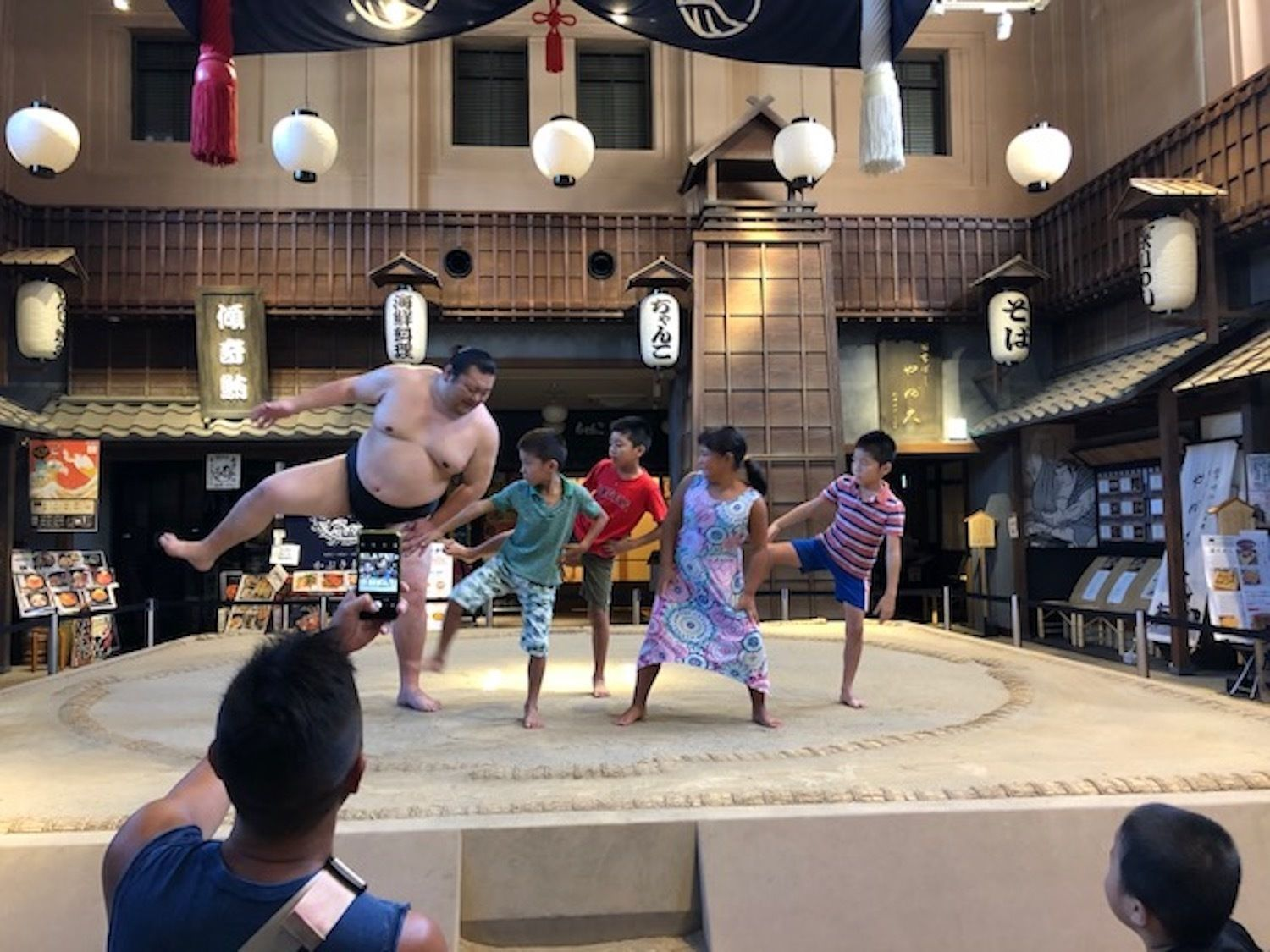 Wrestle with a Sumo Wrestler on Real Sumo Ring in Ryogoku