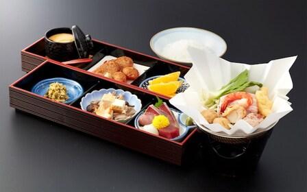 Japanese lunch at Ryōgoku Edo NOREN in Tokyo