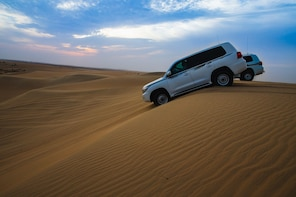 4 Hour Doha Desert Safari, Dune bashing & Inland Sea Tour