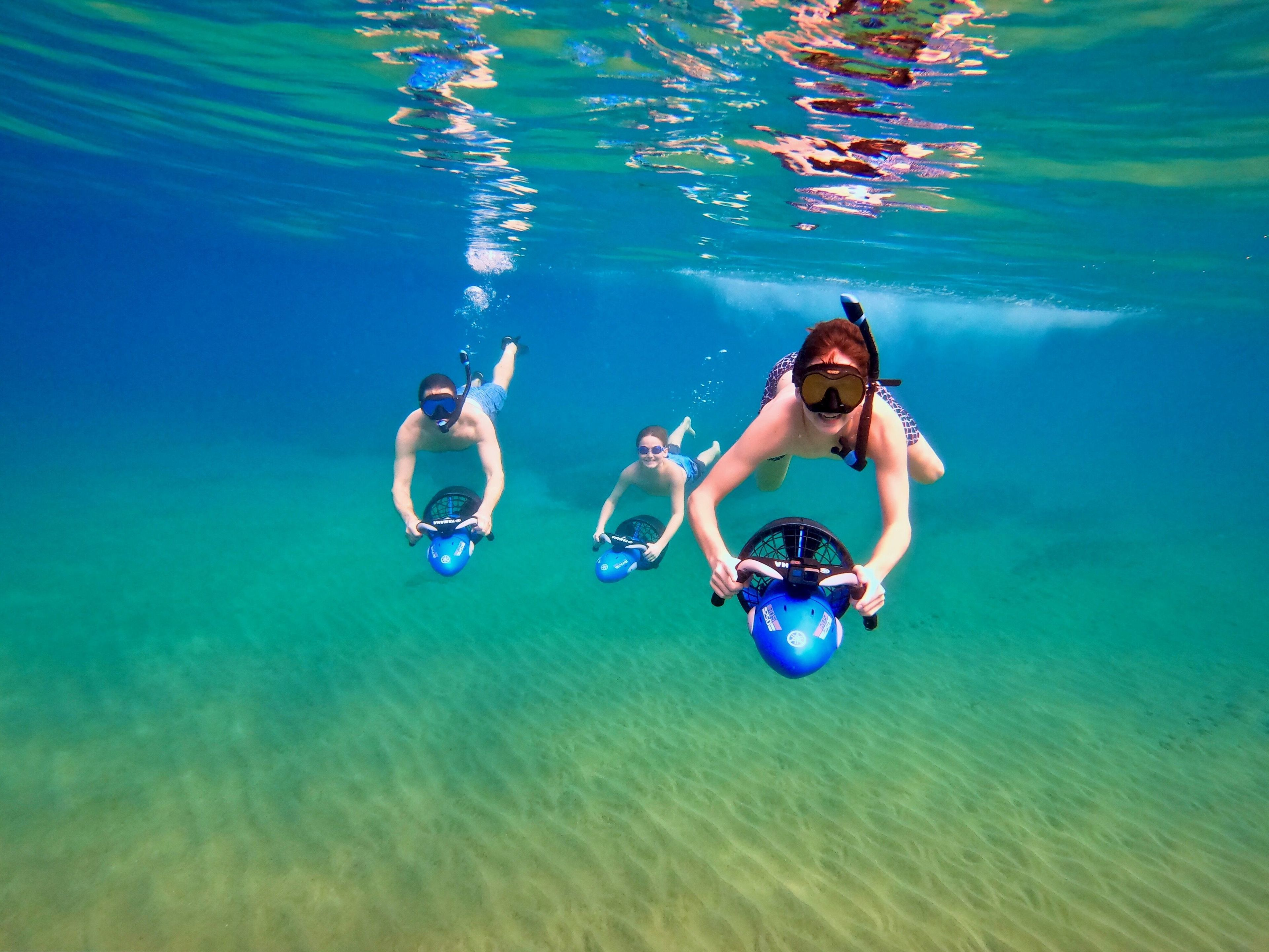 Under Water Adventure with Sea Scooters (Snorkeling)