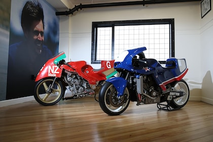 Classic motorcycle museum