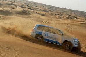 Abu Dhabi Morning Desert Safari with Camel Ride