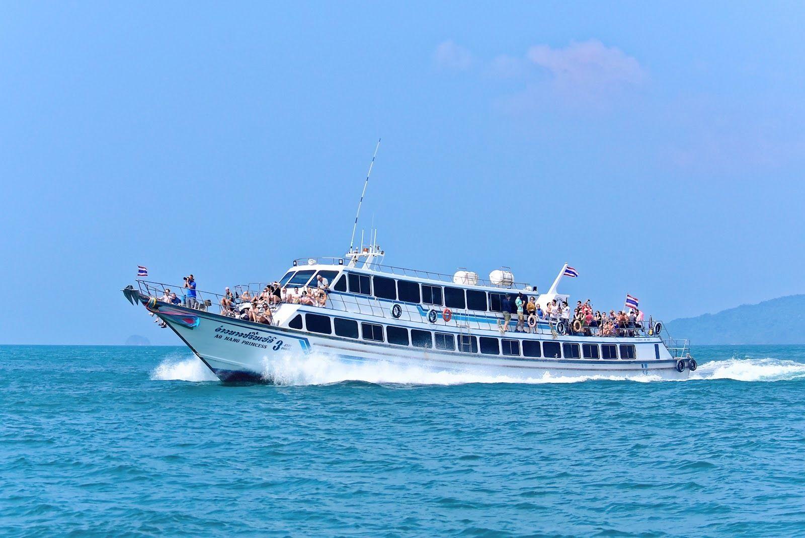 Koh Lanta to Railay Beach by Ao Nang Princess Ferry