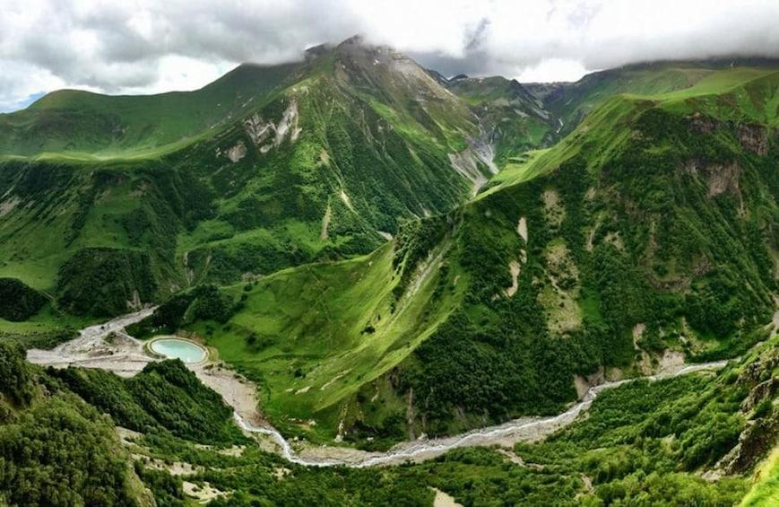 Show item 3 of 6. Kazbegi-Ananuri Mountain in Georgia