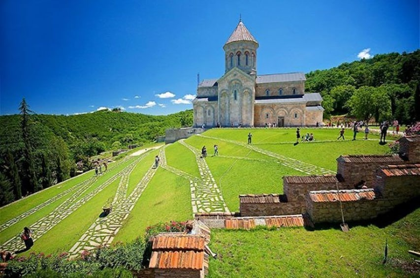 Show item 4 of 4. Monastery of St Nino and grounds in Georgia