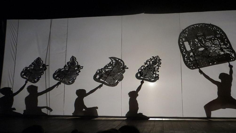 Show item 2 of 10. Sovannaphum Shadow Art Performance in Phnom Penh