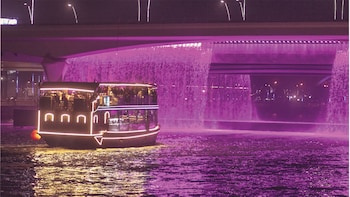Stunning Dubai Canal Dhow Cruise Dinner and Live Show