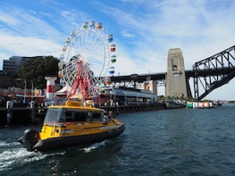 Luna Park Unlimited Rides Entry with Yellow Water Taxi