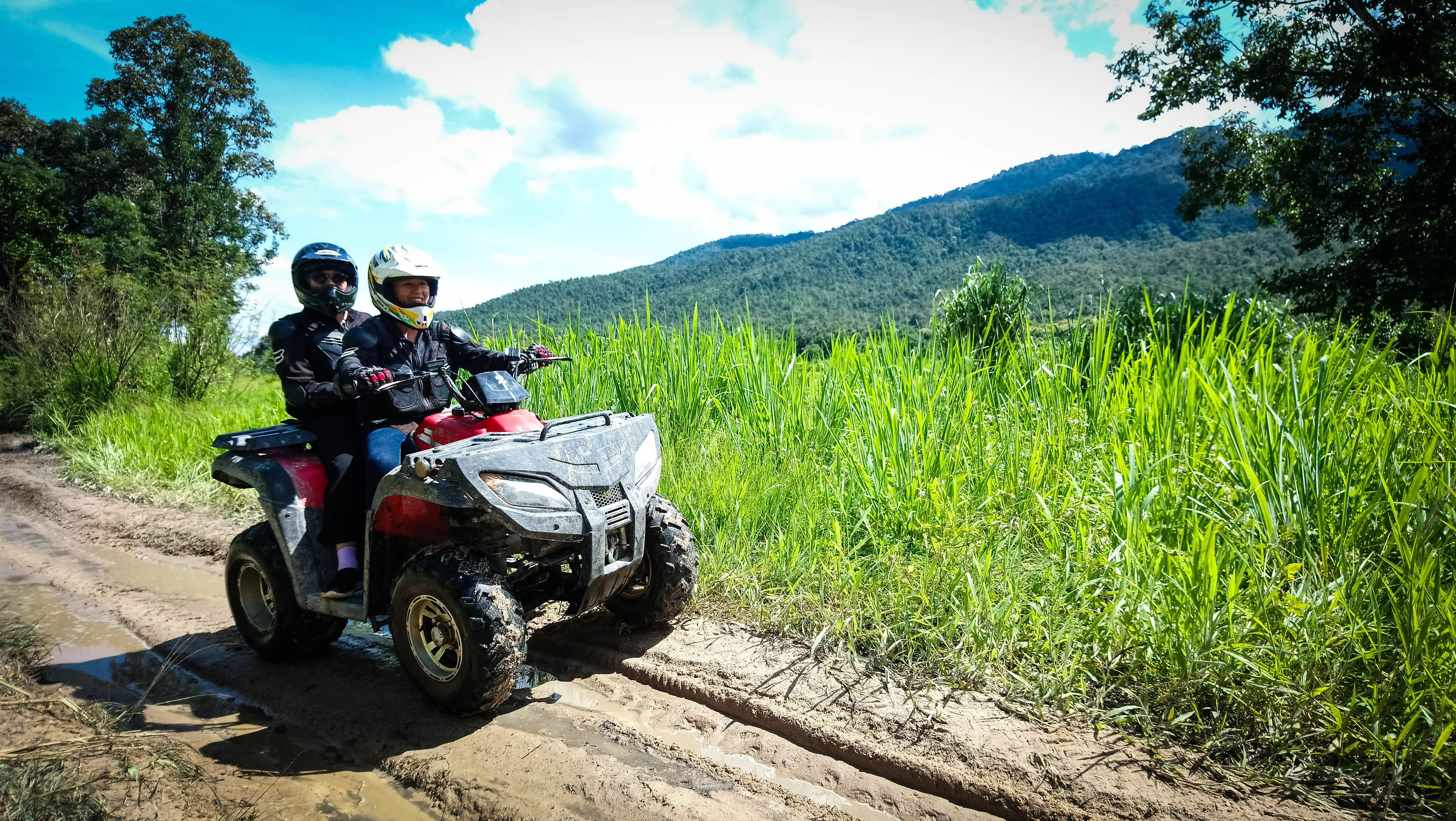 X-1 Jungle Excursion ATV 1 hour at Huay Tung Tao