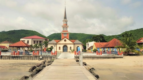 Town of Les Anses-d'Arlet in Martinique
