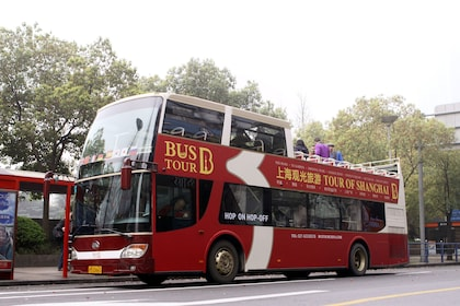 Tour bus in Shanghai