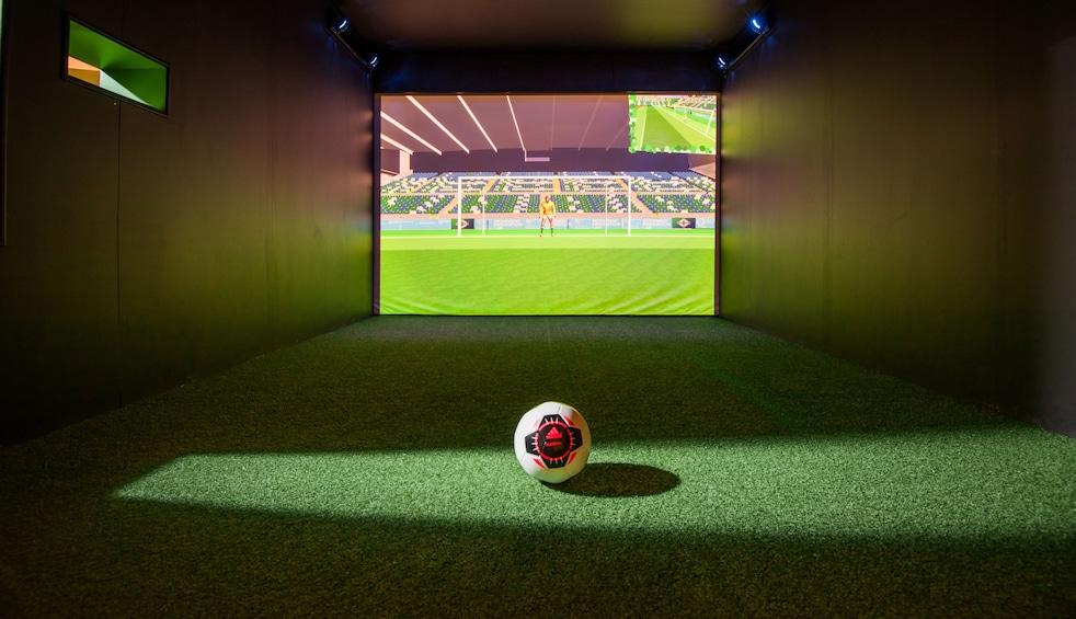Show item 4 of 4. Inside National Football Stadium at Windsor Park