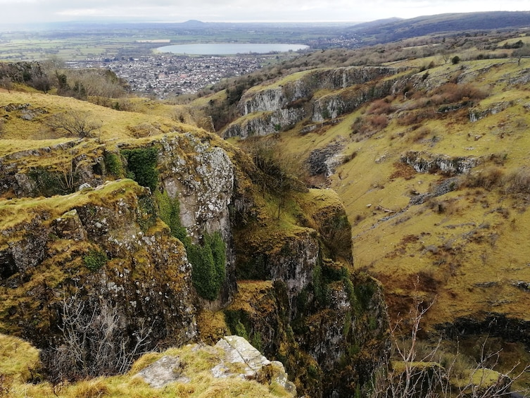 Show item 2 of 6. Landscape day views of Cheddar Gorge in England