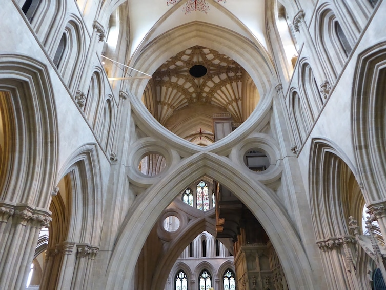 Show item 1 of 6. Inside Wells Cathedral