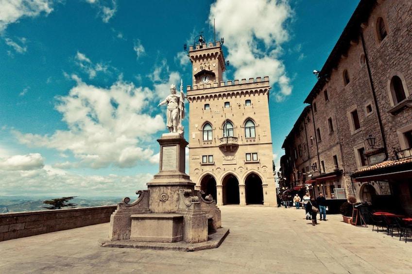 Palazzo Pubblico town hall in San Marino