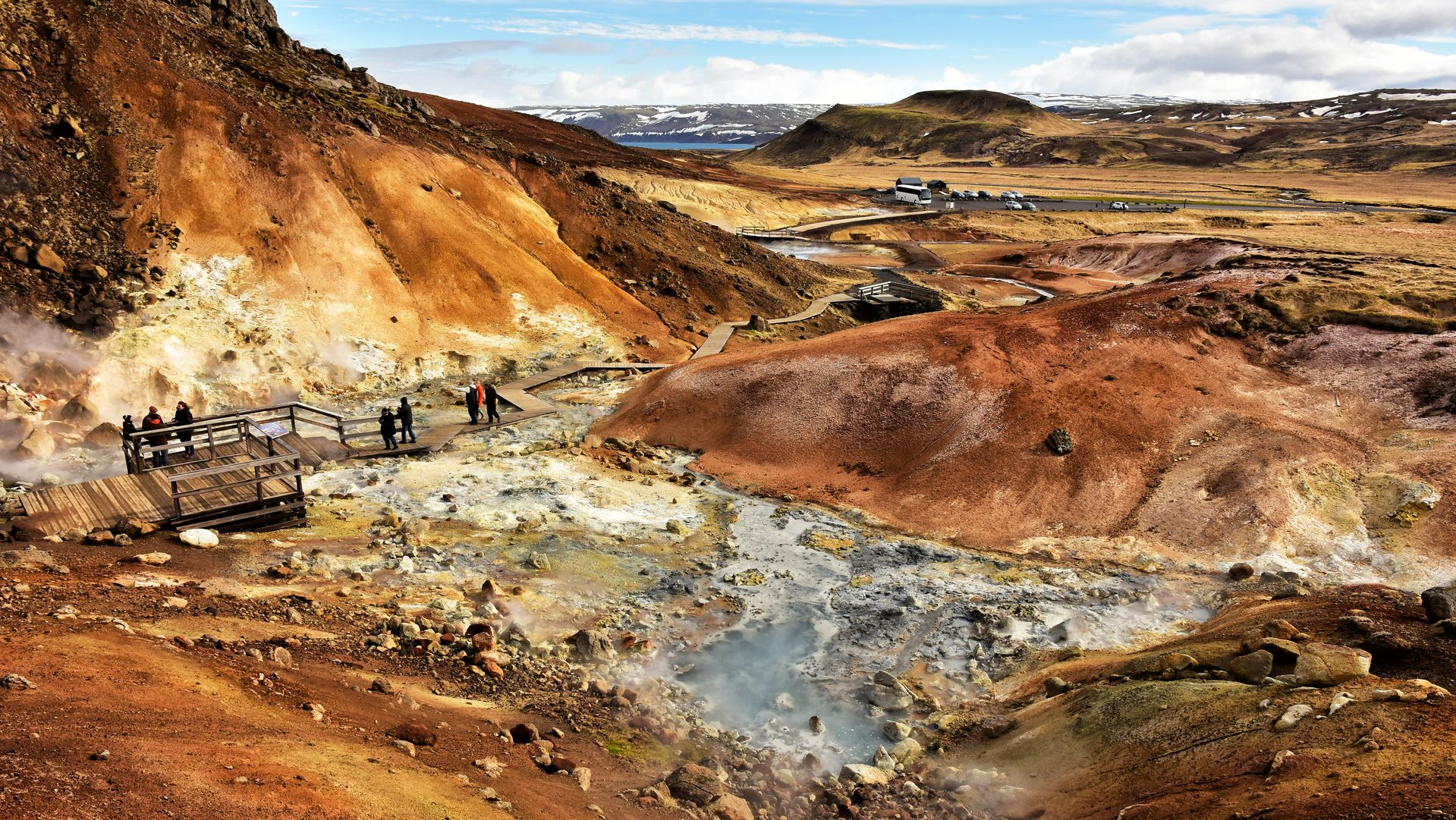 Small-group Reykjanes Geopark tour