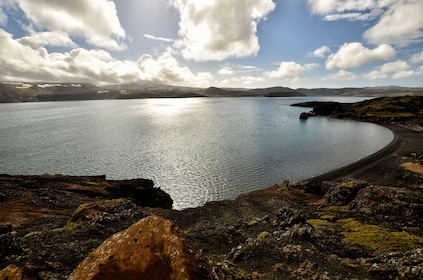 Lake in Reykjanes