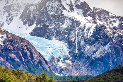 Snowy mountains of Patagonia, South America
