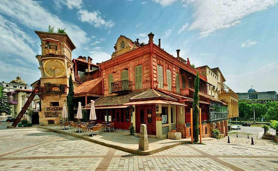 Show item 2 of 4. Rezo Gabriadze Theatre in Tbilisi