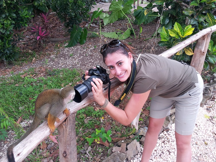 Ziplines & Monkeyland Adventure from Punta Cana