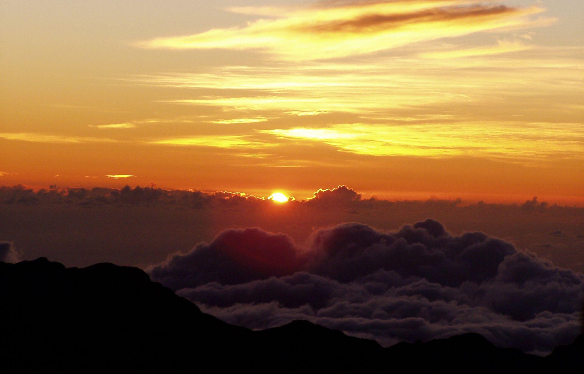 Sunrise at Haleakal? National Park