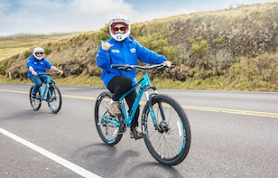 Haleakala National Park Sunrise Bike & Zip Tour