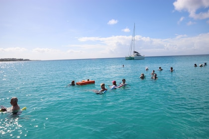 Swimming group in Anguilla
