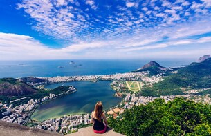 One day in Rio with BBQ lunch. Visit Corcovado & Sugar Loaf